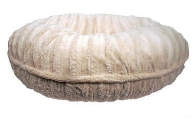 Baylee Nasco Cream Mink Round Bed