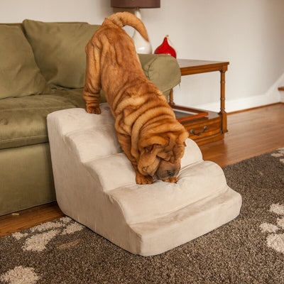 Cierra Scalloped 6 Step Pet Stair