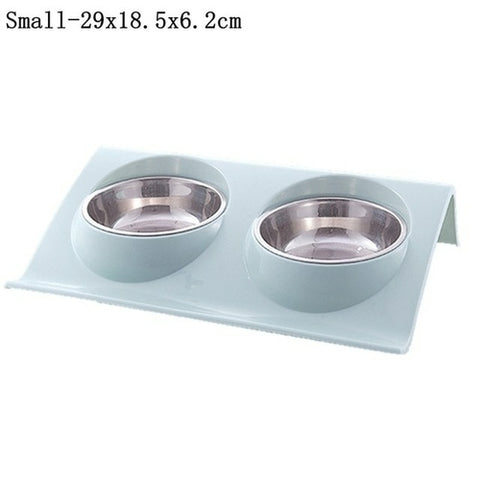 Stylish Double Dog Bowls