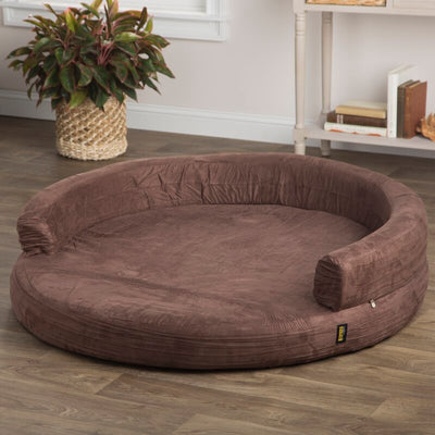 Fala Deluxe Orthopedic Memory Foam Bolster Dog Sofa