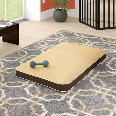 Ginny Dog Cushion Pad with Removable Cover