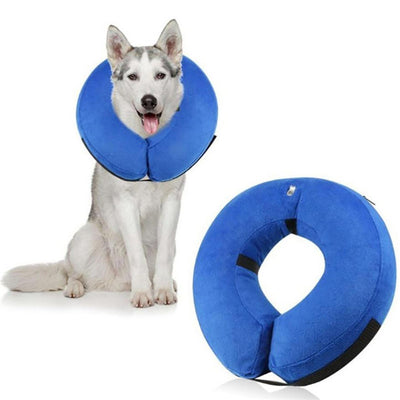 Inflatable Pet Dog Wound Healing Collar Protective