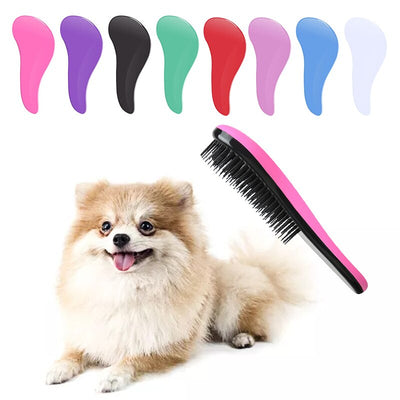 Pet Hair Removal Brush For Dogs & Cats