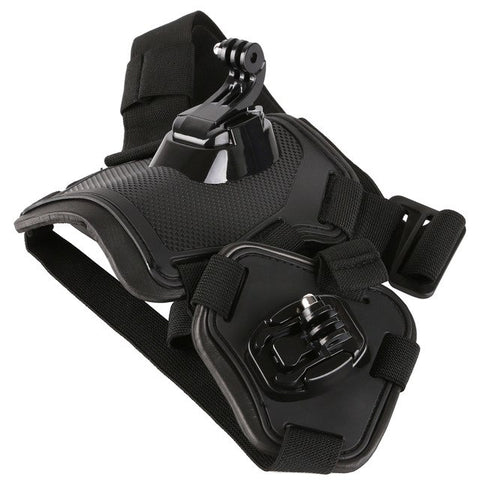 Adjustable Outdoor Pet Vest Harness Chest with Camera - For Paw Sakes