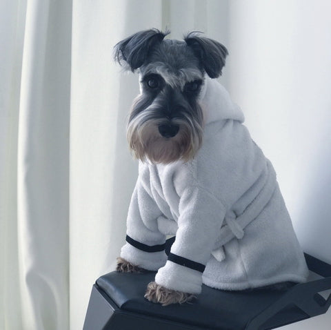 Newest Coral Cashmere Pet Bathrobe