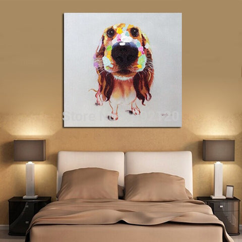 Adorable Dog Abstract Decor