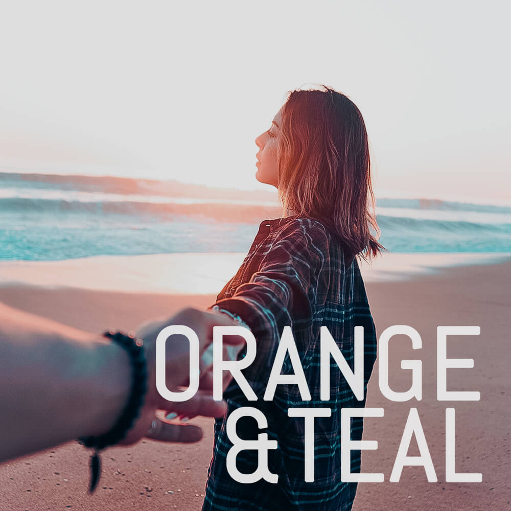 **NEW** Orange and Teal Pack - 9 Luts