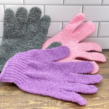 Load image into Gallery viewer, Exfoliating Bath and Shower Glove in 3 Colors - Soapworks Factory