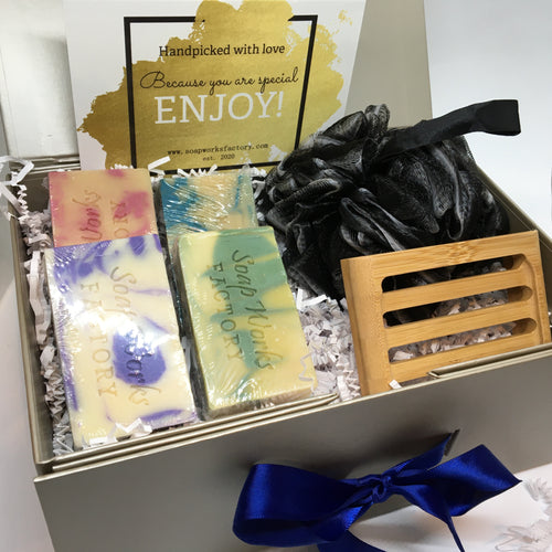 4-Soap Gift Box - Soapworks Factory