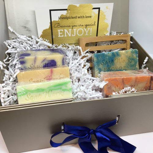 5-Soap Gift Box - Soapworks Factory
