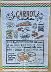 """Carrot Cake"" Dish Towel"