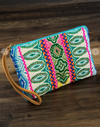 Vivid Handmade Patterned Clutch
