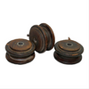 Flat Wooden Spool
