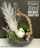 Winter Bird Holiday Craft Kit