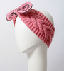 Knit Bow Tie Headband