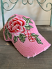 Floral Embroidered Baseball Cap
