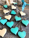 Soldered Heart Necklace  ( Debi's Fave)