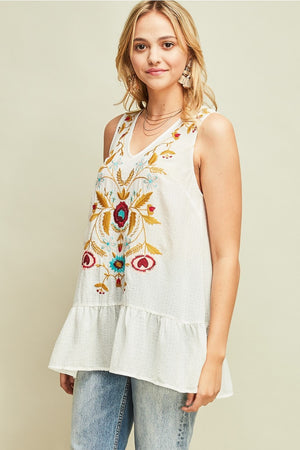 Adelaide Top - Cream