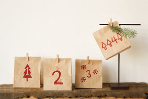 Advent Paper Bags