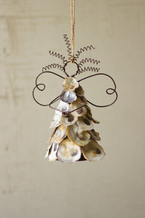 Oyster Angel Ornament