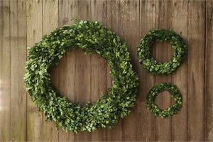Small Preserved Boxwood Wreath