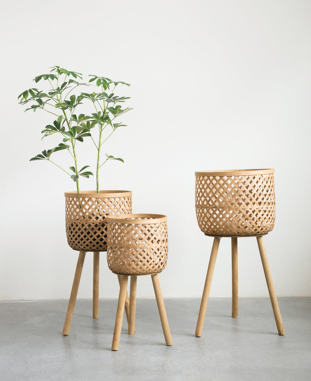 Bamboo Basket Set of 3