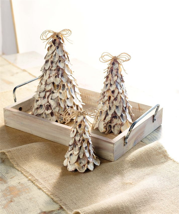 Oyster Christmas Tree Set