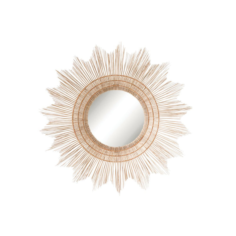 Wicker Sunburst Mirror