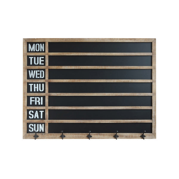 Weekday Wall Chalkboard