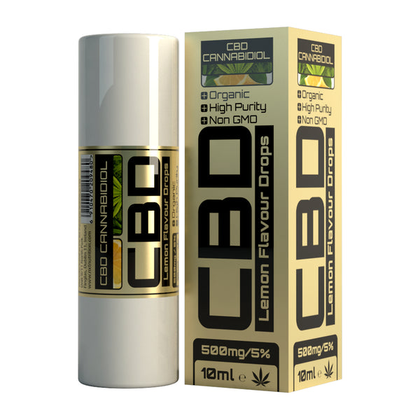 NXT CBD Oil 500mg - Lemon