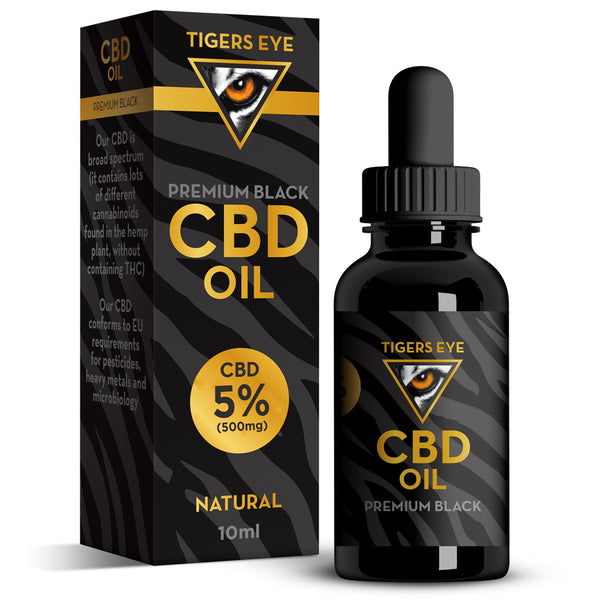 CBD Oil 500mg (5%) - Tiger's Eye