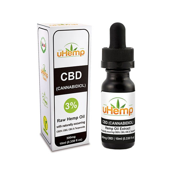 uHemp CBD Oil 300mg