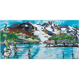 Joffre Lakes - Metal Prints