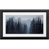 Peak to Creek - Framed Anissimoff Art