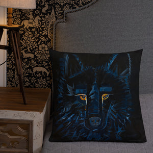 Shadow Wolf - Pillow