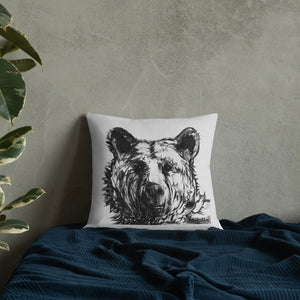 Neutral Bear - Pillow