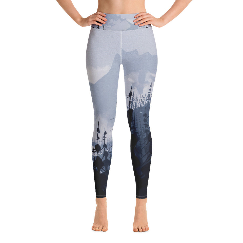 Tantalus Range - Yoga Leggings