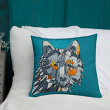 Surface Series Wolf - Pillow