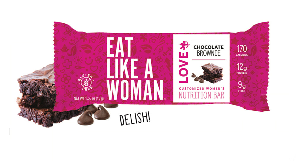 Chocolate Brownie LOVE  Bar 12-Pack