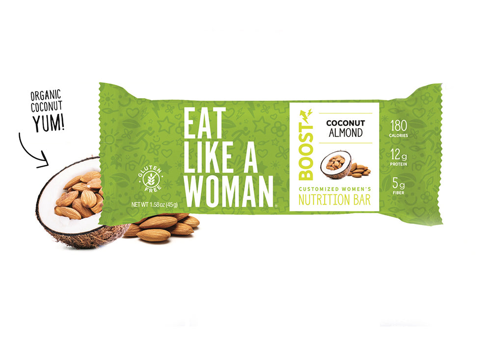 Coconut Almond BOOST Bar 12-Pack