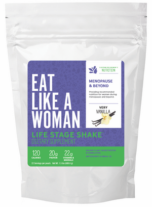Life Stage Shake™ MENOPAUSE & BEYOND, 1.5 lbs. 22 servings