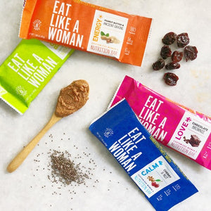 Assorted Bars, 16-pack, 4 flavors: Chocolate Brownie, Coconut Almond, Cherry & Nut, Peanut Butter