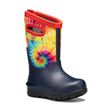 Load image into Gallery viewer, Neo-Classic Tie Dye Snow Boots