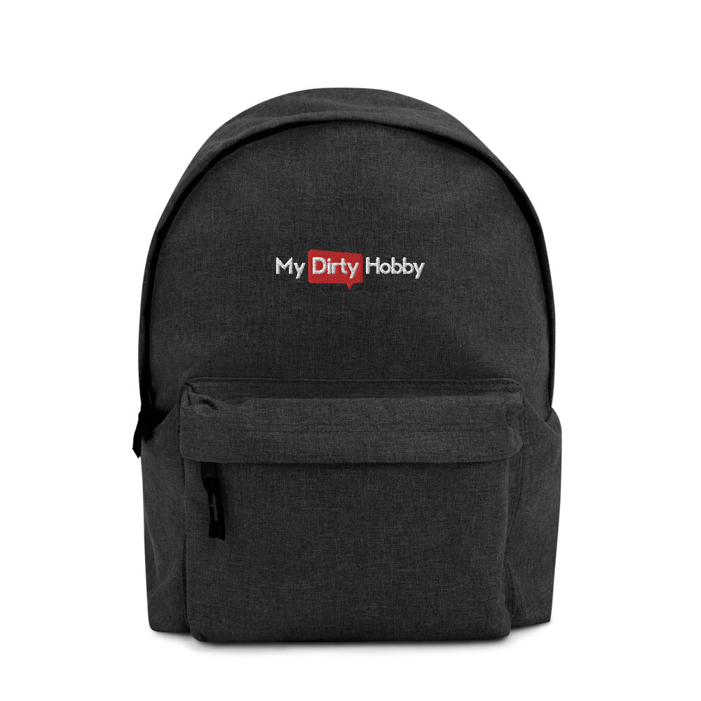 MyDirtyHobby Embroidered Backpack