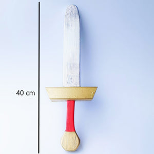 Hand-crafted Wooden swords