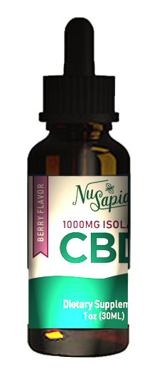 BERRY FLAVORED CBD TINCTURE (1000MG ISOLATE)