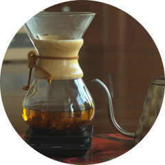 Cascara Coffee Tea - Brewing