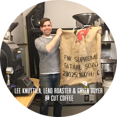Lee Knuttila, Lead Roaster & Green Buyer 
