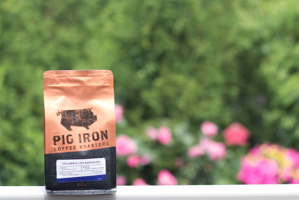 Pig Iron Coffee Roasters Coffee Bag