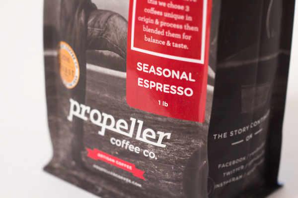Propeller Coffee Bag Seasonal Espresso - The Roasters Pack